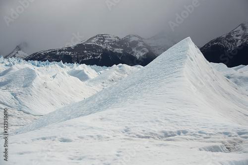 Fototapeta Seracs in Perito Moreno Glaciaer in Argentinian patagonia