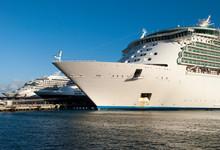 Cruise Ships Moored In San Juan