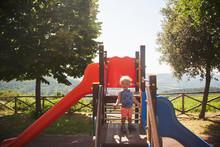 Toddler In Playpark