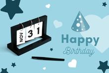 November 31th Calendar For Ann...
