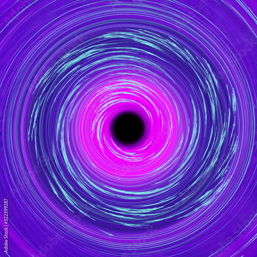 An abstract psychedelic spiral background image.