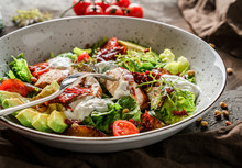 Healthy Salad With Fillet Chic...