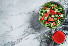 Fresh Summer Watermelon Salad ...
