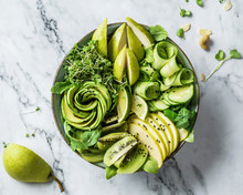 Fresh Summer Salad With Avocad...