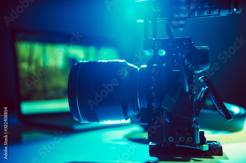 Fototapeta Motion Picture Production