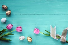Festive Easter Background. Pin...