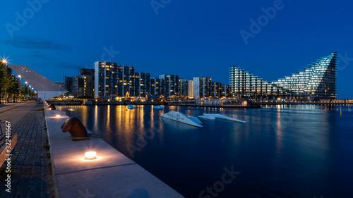 Aarhus Ø by night