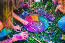 Celebrating Festival Of Colors...