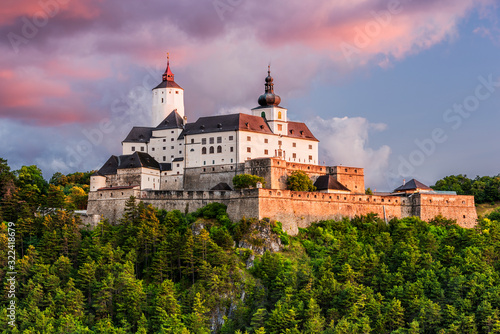 Fotografering Forchtenstein (Burgenland, Austria) - one of the most beautiful castles in Europ