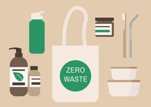 Zero Waste Products Set, Respo...