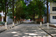 The road corridor of old residential areas in China