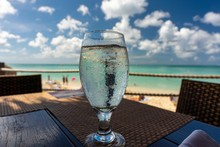 Water In A Transparent Glass W...
