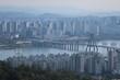서울 한강변 풍경