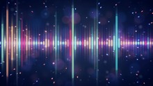 Music Background With A Colorf...