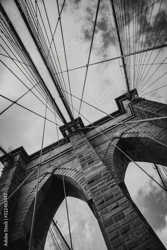 Puente brooklyn new york Fototapet