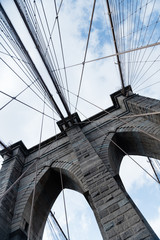 Fototapeta Mosty Puente brooklyn new york