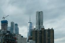 Edificio 8 Spruce Street Conocido Como La Torre Beekman, Edificio De 76 Pisos Construido Por Frank Gehry