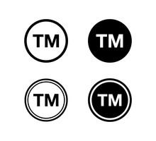 Trademark Symbol Icon Logo Vec...
