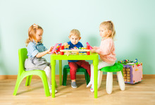 Cute Little Children Playing I...