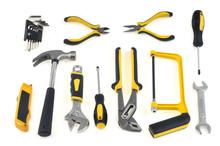 Assortiment D'outils Sur Fond ...