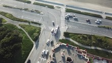 San Francisco Outer Richmond Great Highway Drone Aerial