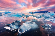 Incredible Landscape With Iceb...