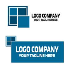 Window Logo Blue Color Isolat...