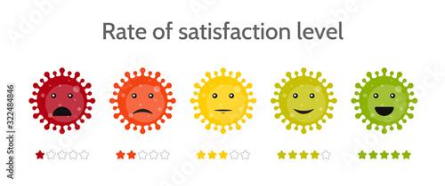 Foto Emoji coronavirus icons