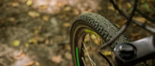 Cycle Tire Wheel Soft Focus Ob...