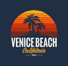 California Venice Beach Poster...