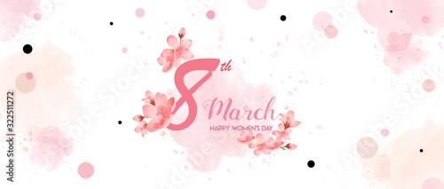 Fotografie, Obraz 8 March, Happy Women's Day holiday