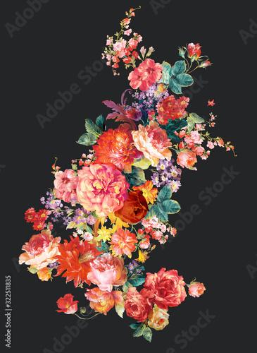 kolorowy-kwiat-na-ciemnym-tle-kwiaty