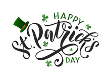 Saint Patricks Day Typography ...