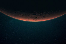 Beautiful Red Planet Mars In S...