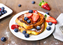 Delicious French Toast With Fr...