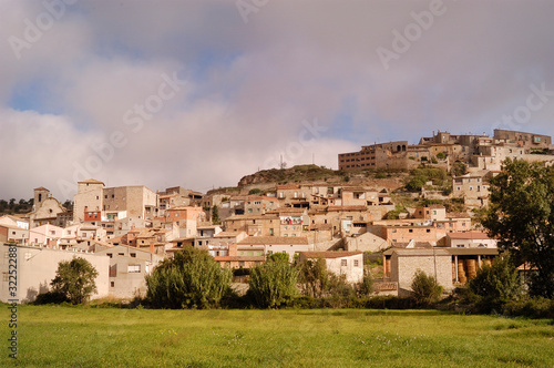 Village of les Olugues, Lleida province, Catalonia, Spain