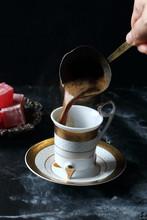 Turkish Coffee And Turkish Del...