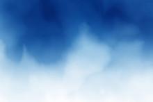Dark Blue Watercolor Splash Background