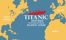 "Location Of The Sunken RMS ""Titanic"""