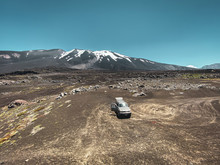 View On The Volcano Antuco In ...