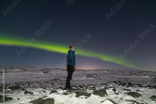 aurorq boreal Canvas Print