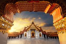 Marble Temple Of Bangkok Thail...