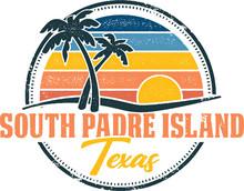 South Padre Island Texas Spring Break Vintage Shirt Design