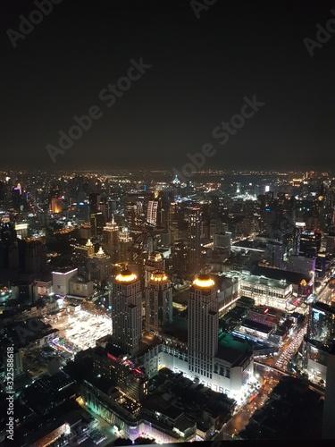 Fototapeta city at night obraz na płótnie