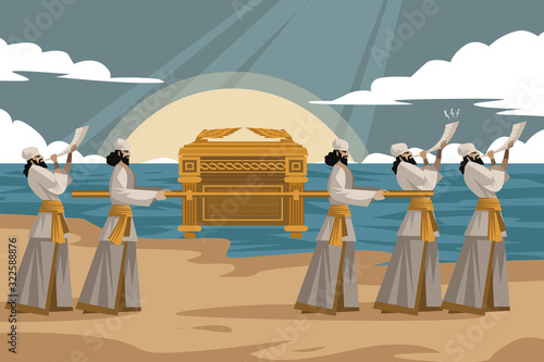 Ark of the Covenant biblical object Canvas Print