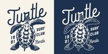 Vintage Surfing Club Monochrom...