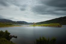 Ardvreck Castle Loch Assynt Sutherland Highland Scotland