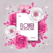 Spring Festive Flowers Design,...