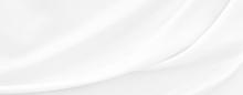 White Gray Satin Texture That ...