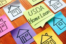 USDA Home Loan And Drawn Homes...